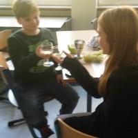 Weinprobe im Unterricht
